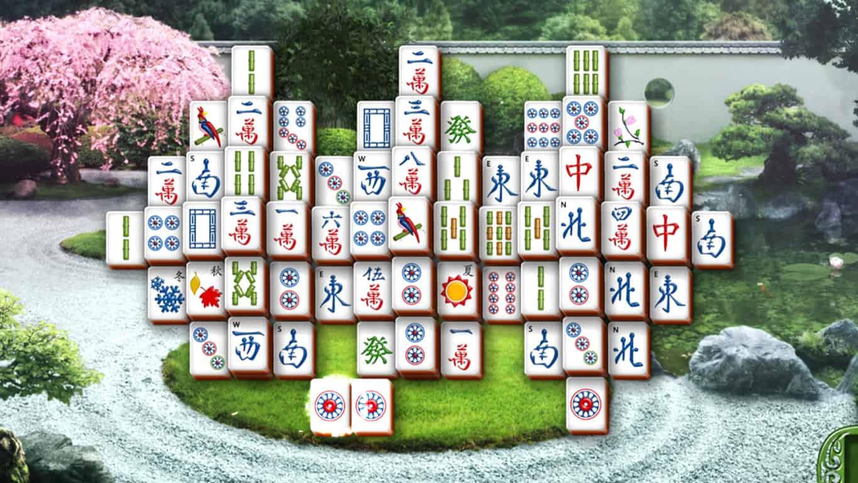 Microsoft Mahjong on Windows 10