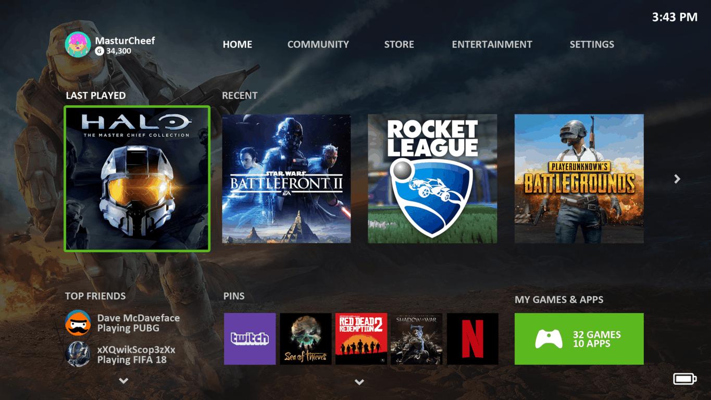 Xbox One mock-up