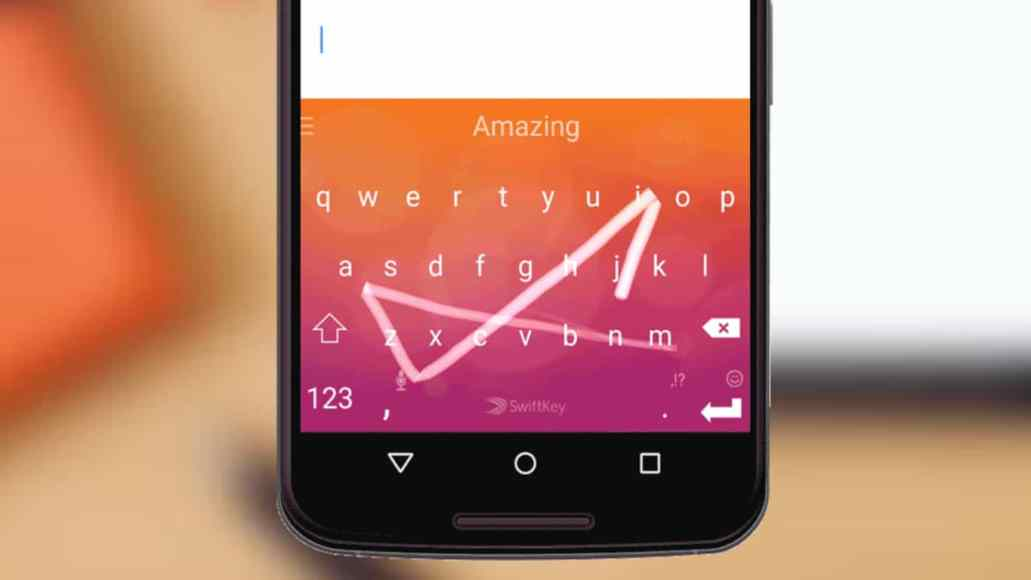 b902f51dd05 Microsoft's Swiftkey keyboard has just received a big update on Android  today. The latest version, which was released for beta users earlier this  month ...