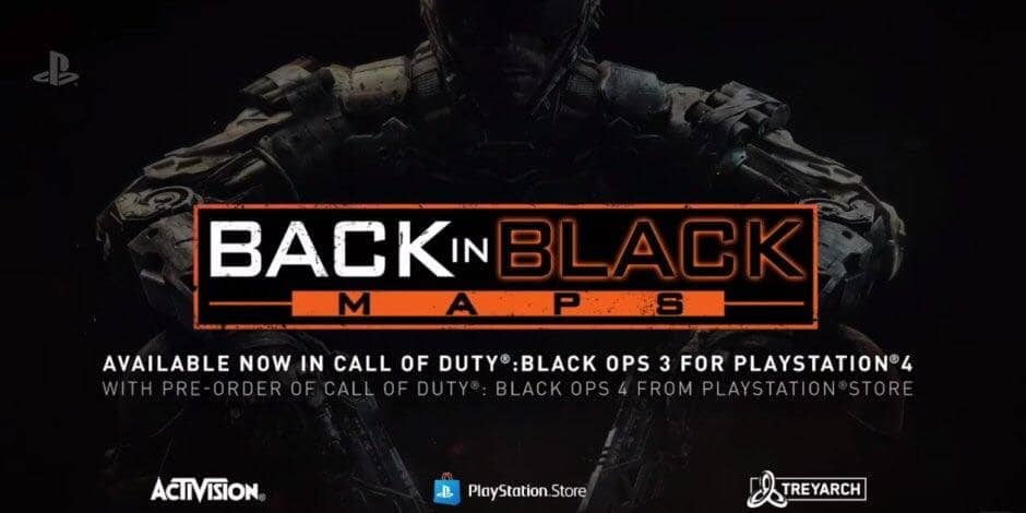 Call of Duty: Black Ops 3 Back in Black DLC