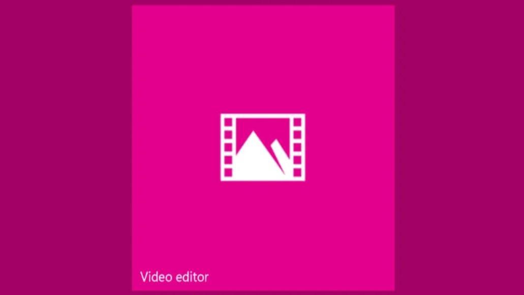 Video Editor Windows 10 app