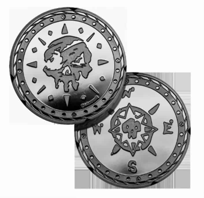 Xbox Gear: Sea of Thieves Silver Variant Coin