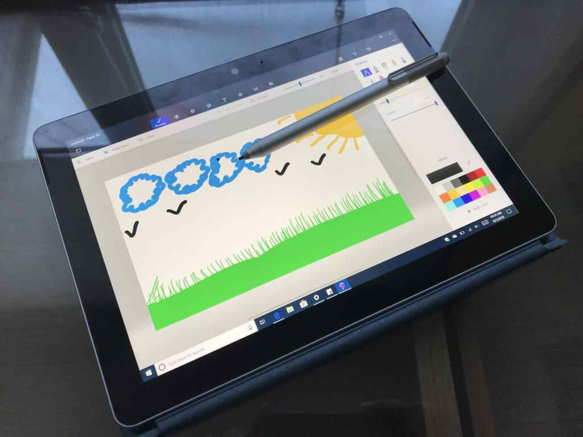 Surface Go Inking