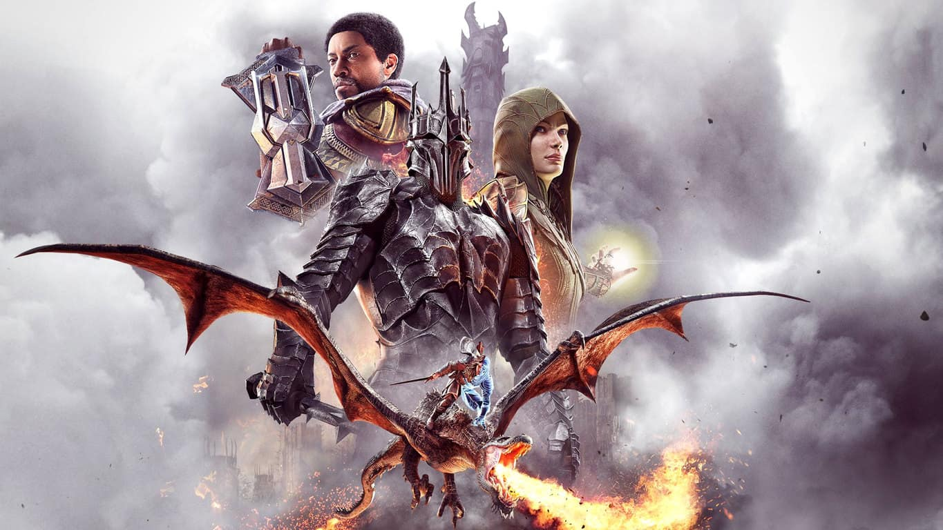 Middle-earth: Shadow of War Definitive Edition video game on Xbox One