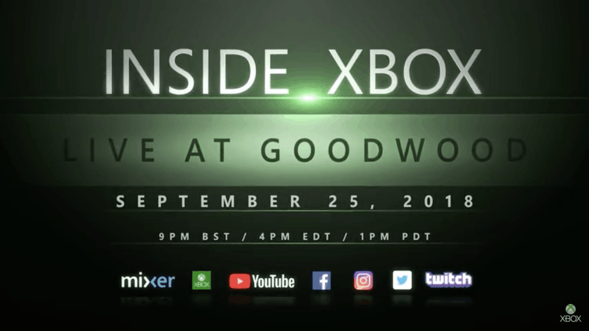 Special Inside Xbox episode announced for September 25 with lots of
