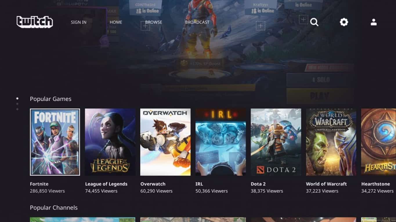 The new Twitch app is now live on all Xbox One video game consoles