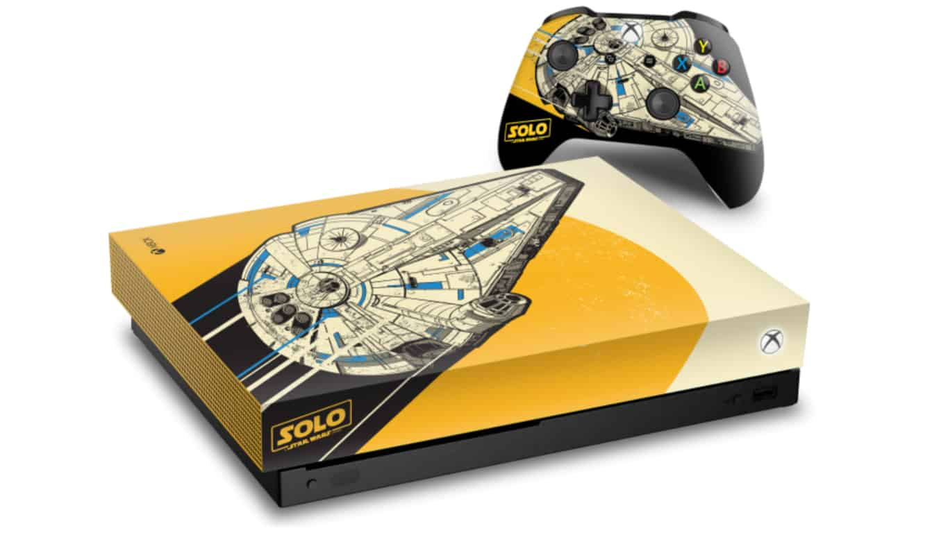 Solo: A Star Wars Story Xbox One X console
