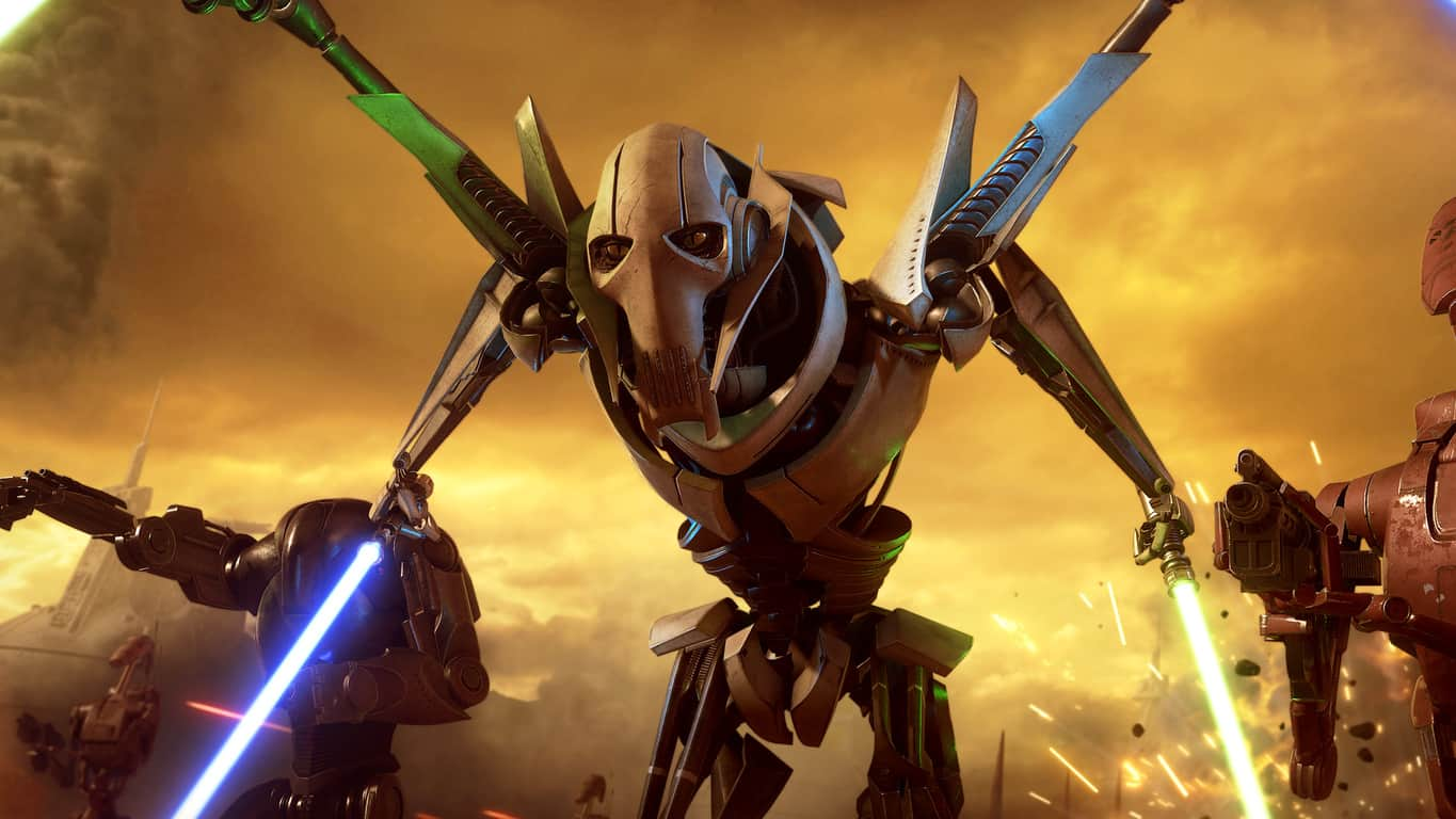 General Grievous in Star Wars Battlefront II on Xbox One