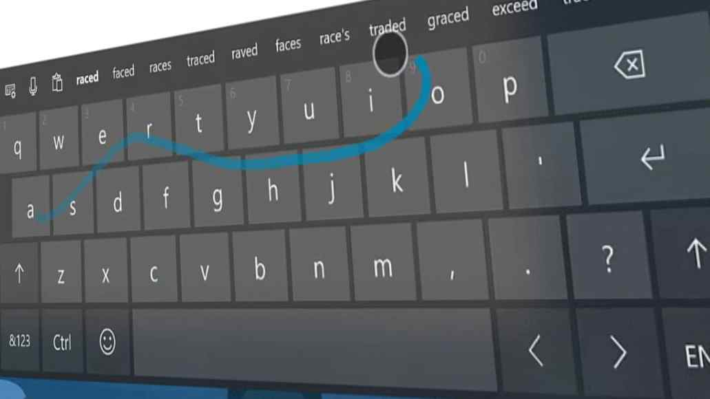 52c4de3d46c ... to come out of the flurry of announcements today was the confirmation  that the popular SwiftKey keyboard functionality was finally coming to Windows  10 ...