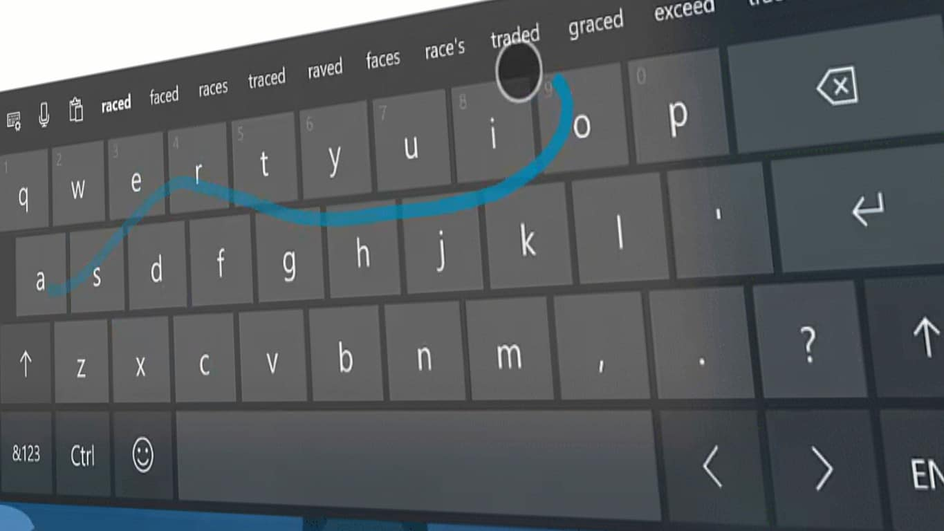 Microsoft's SwiftKey in Windows 10