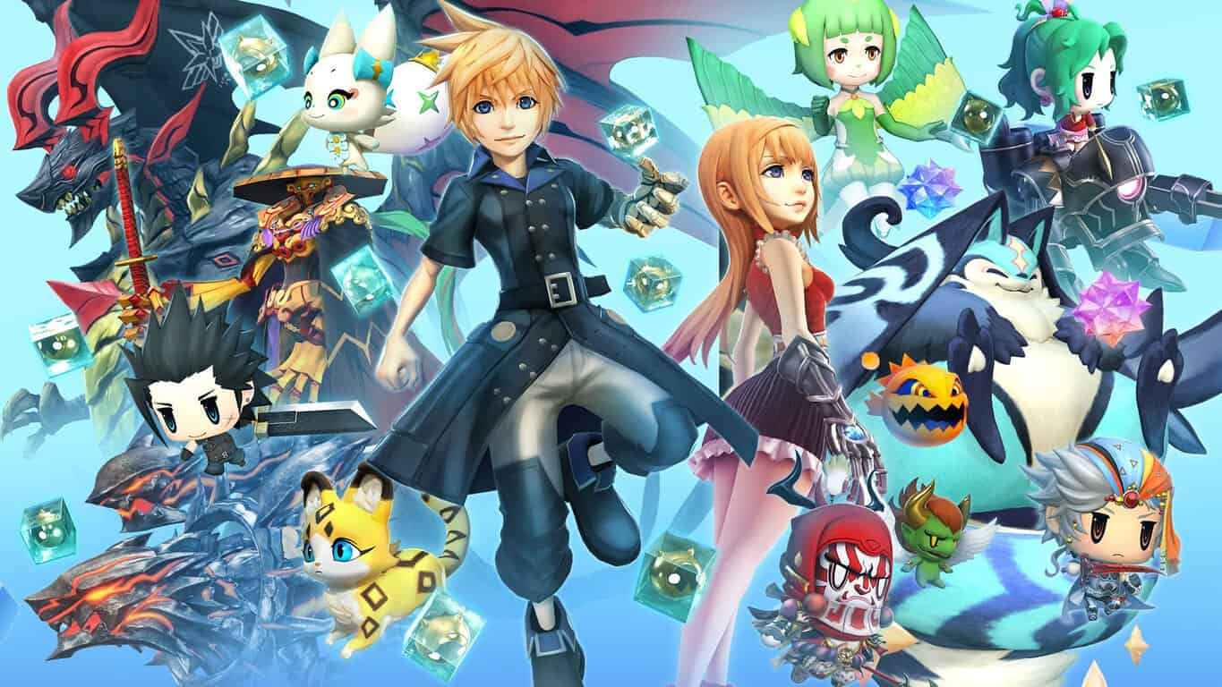 World of Final Fantasy Maxima video game on Xbox One