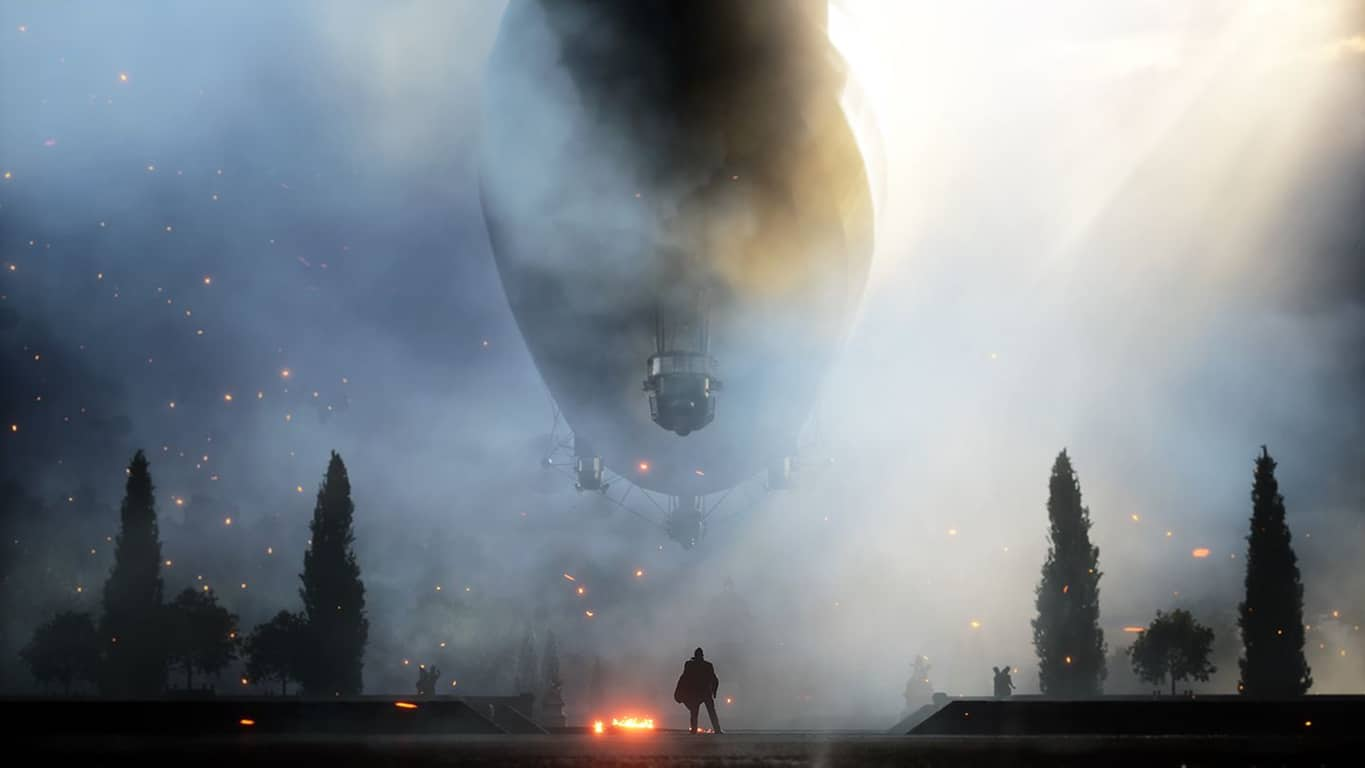 Battlefield 1 video game on Xbox One