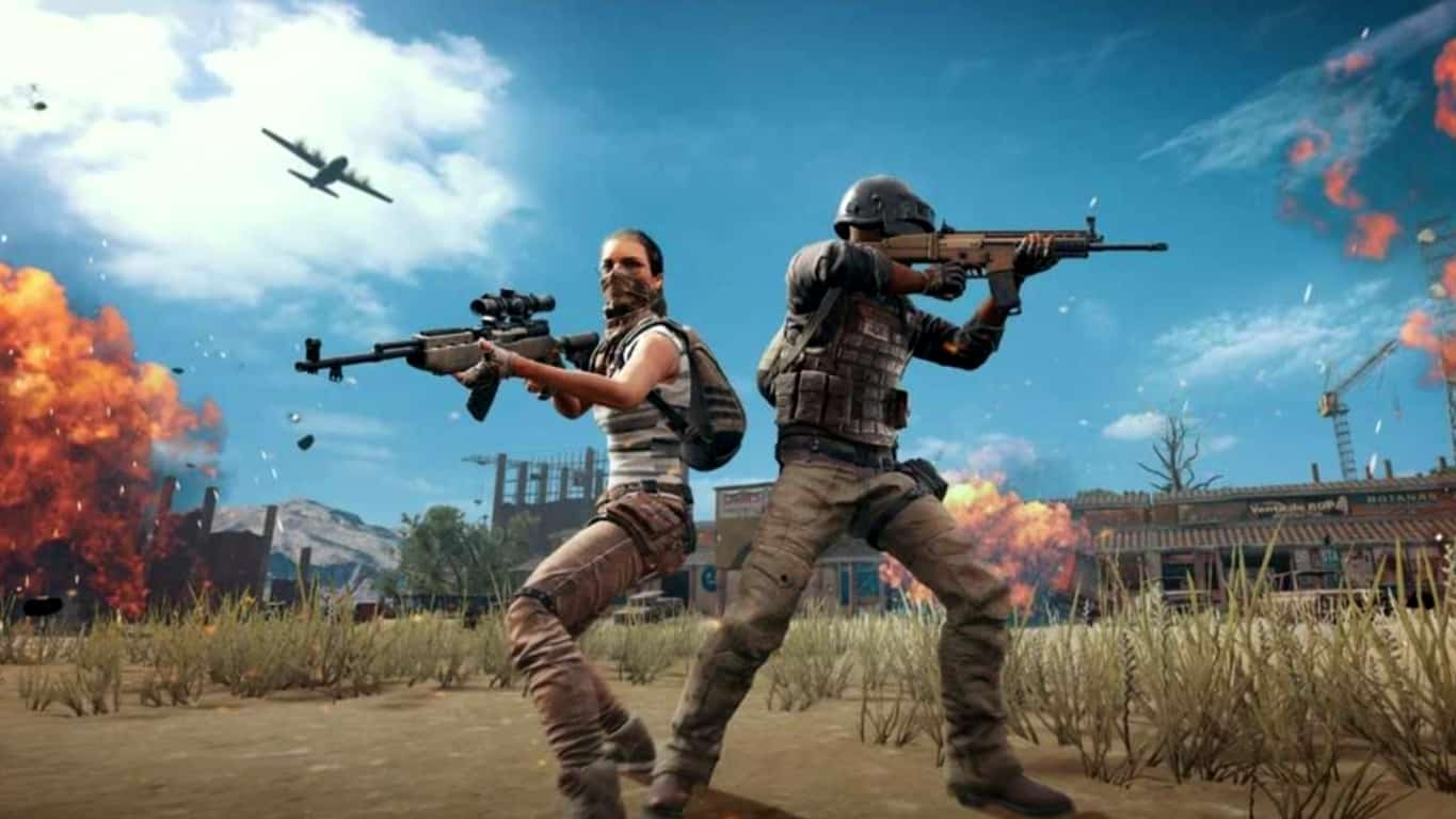 PlayerUnknown's Battlegrounds (PUBG) video game on Xbox One