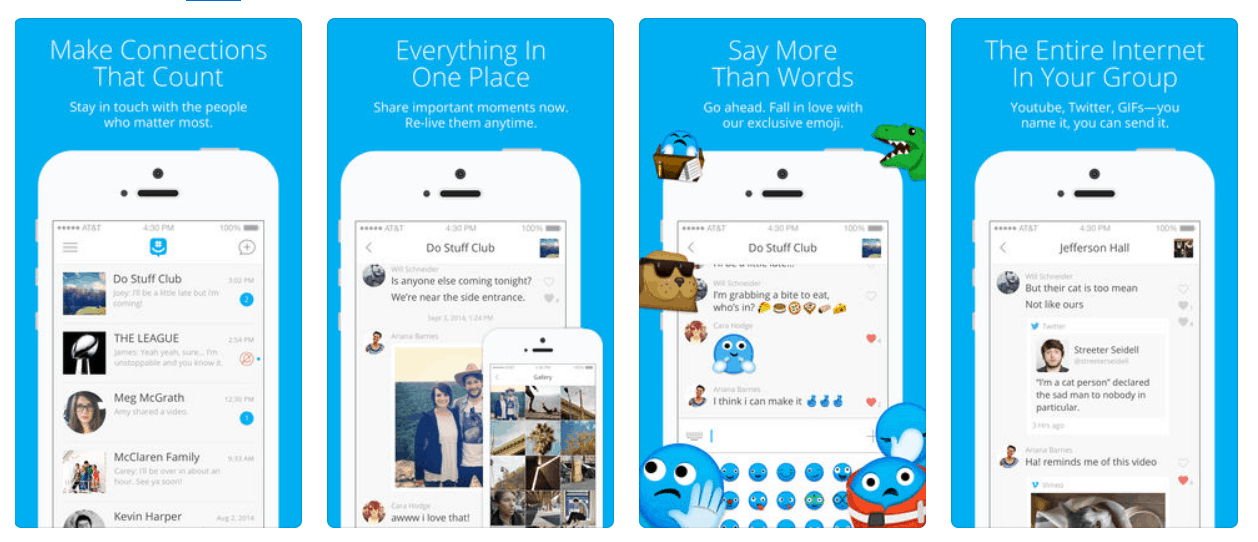 Microsoft's GroupMe iOS app updates with fixes and