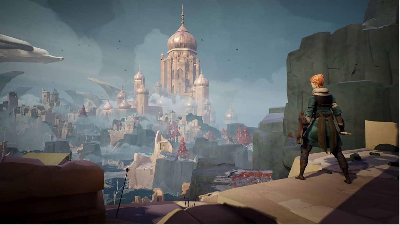 Ashen vidoe game on Xbox One