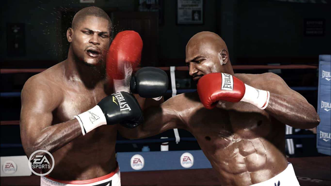 Fight Night Champion video game on Xbox One