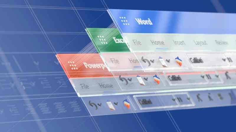 Microsoft Office 365 icons