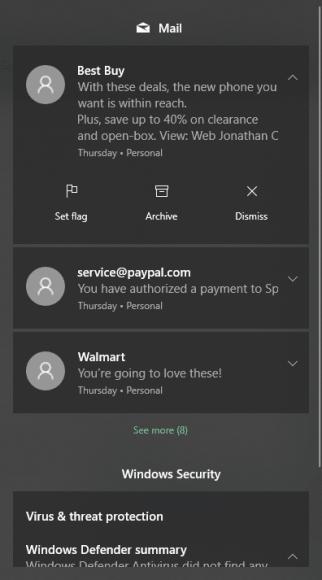 Thunderbird Notifications Windows 10