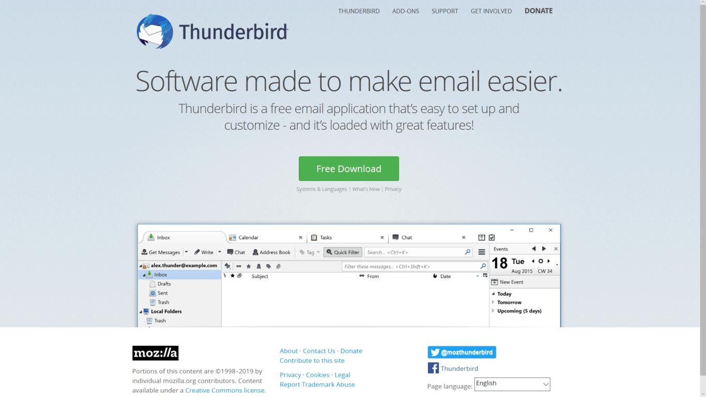 Mozilla Thunderbird to get Windows 10 native notifications