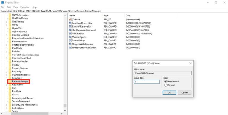 Microsoft, Windows 10, Registry Editor