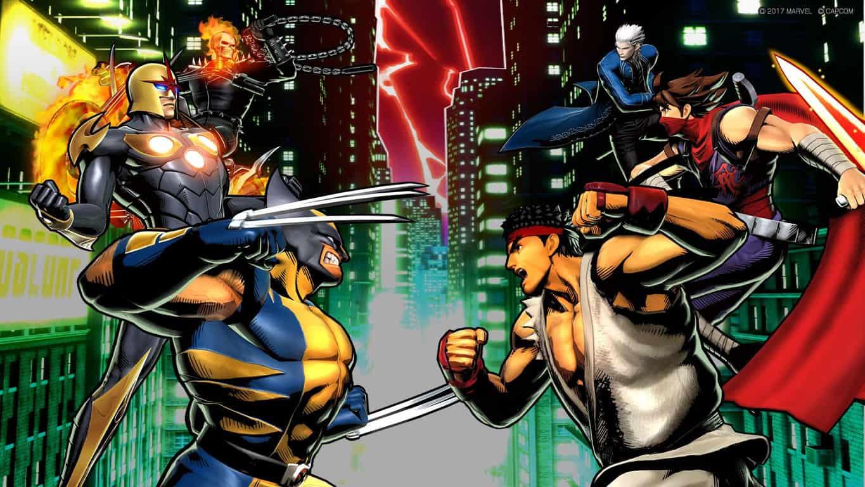 Ultimate Marvel vs Capcom 3 video game on Xbox One
