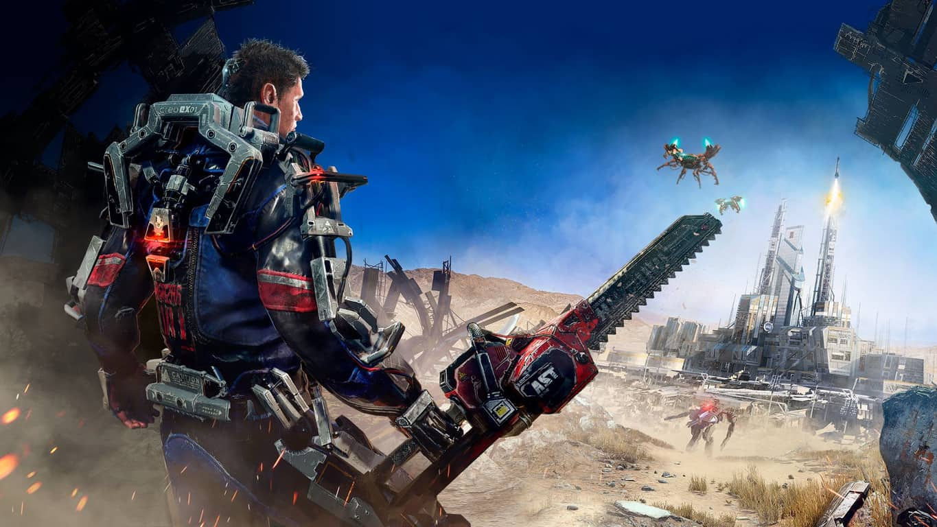 The Surge video game on Xbox One