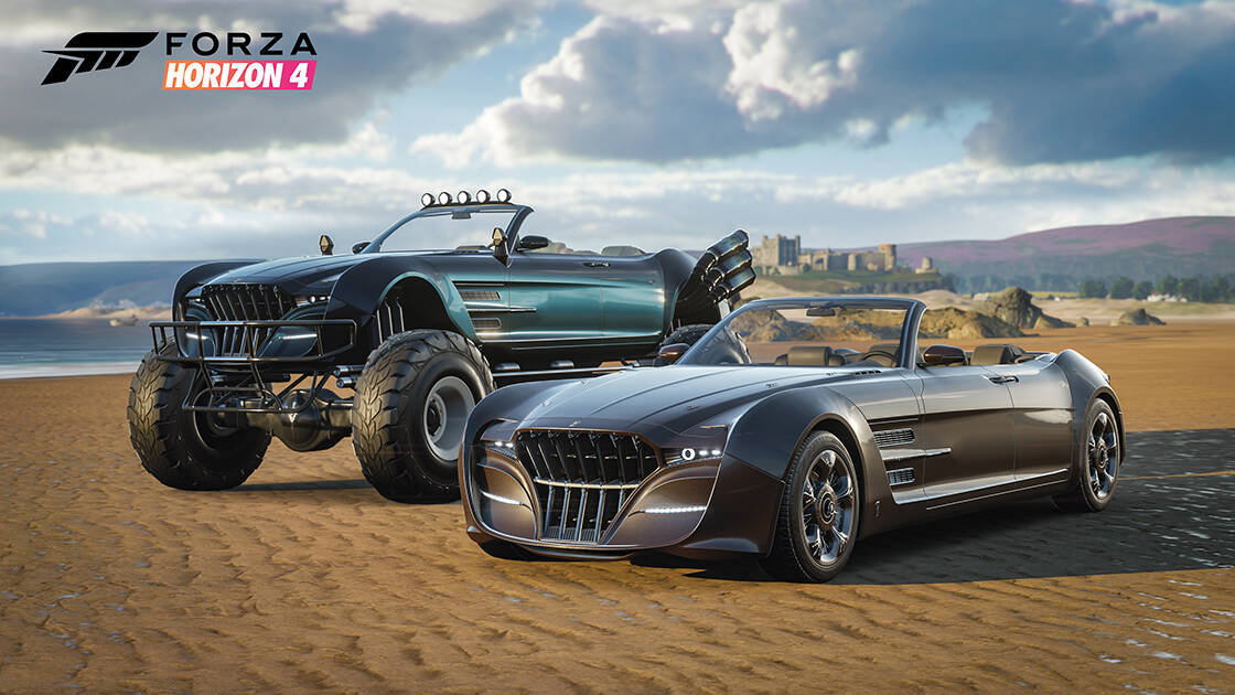 Two Final Fantasy XV cars are coming to Forza Horizon 4 with new