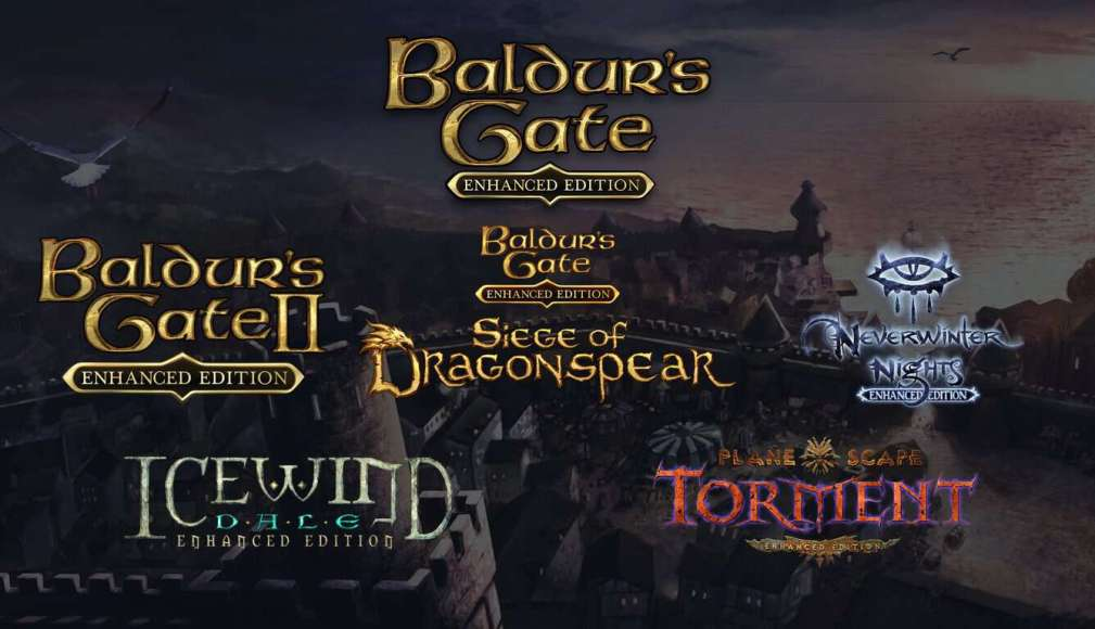Classic Baldurs Gate Video Games Are Coming To Xbox One Onmsftcom