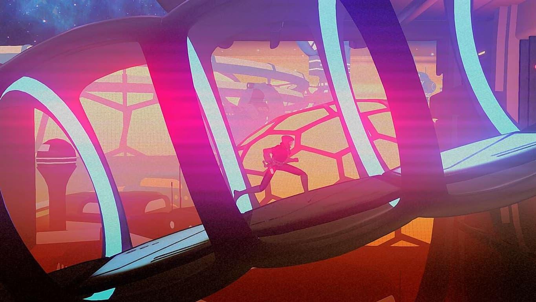 Headlander video game on Xbox One
