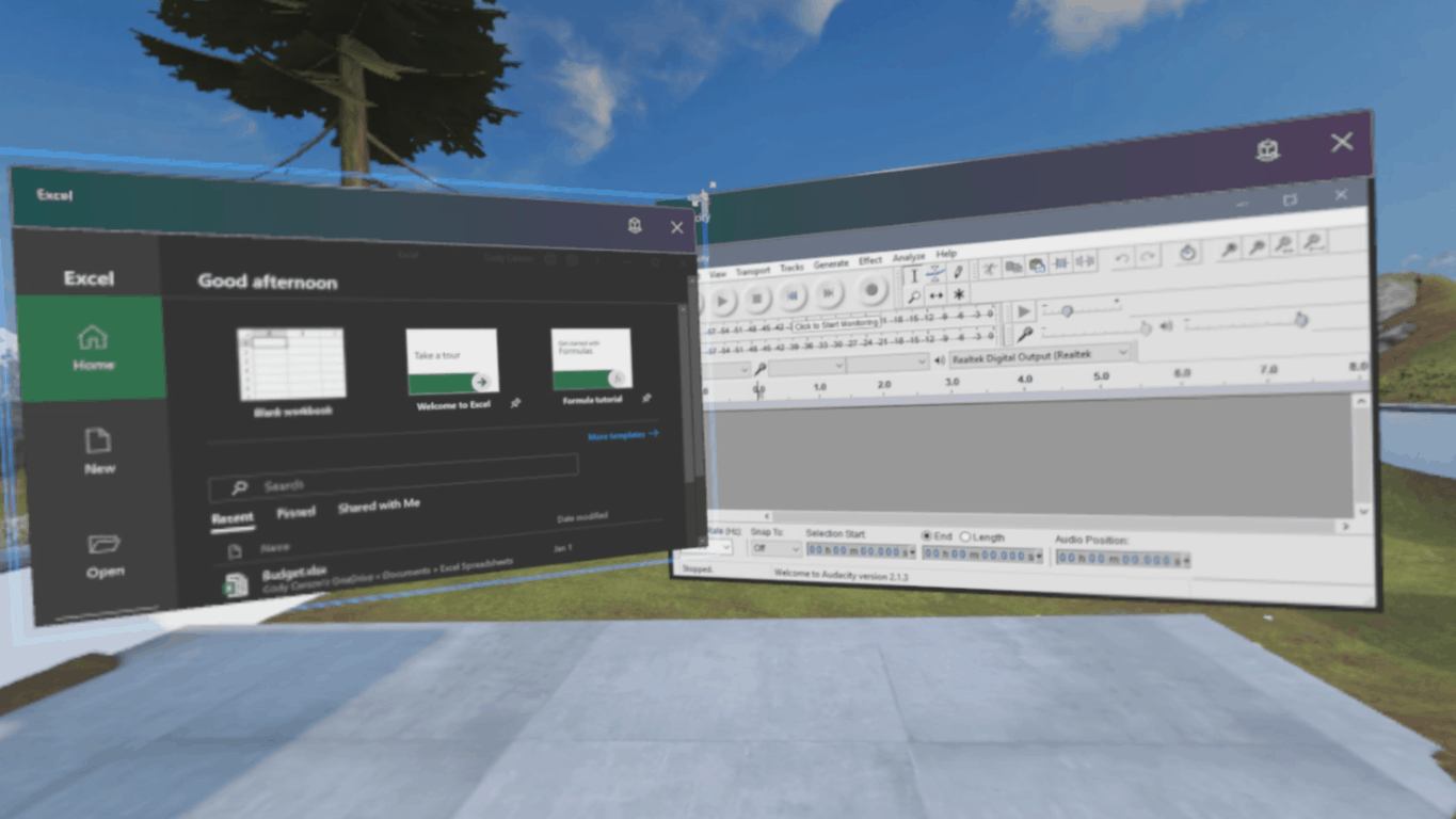 legacy, desktop, Win32, classic apps running in Windows Mixed Reality Environment