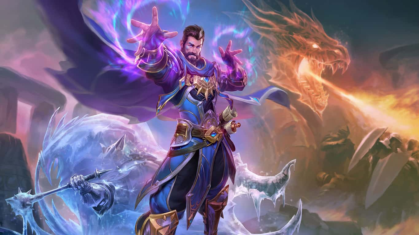 Merlin in Smite video game on Xbox One