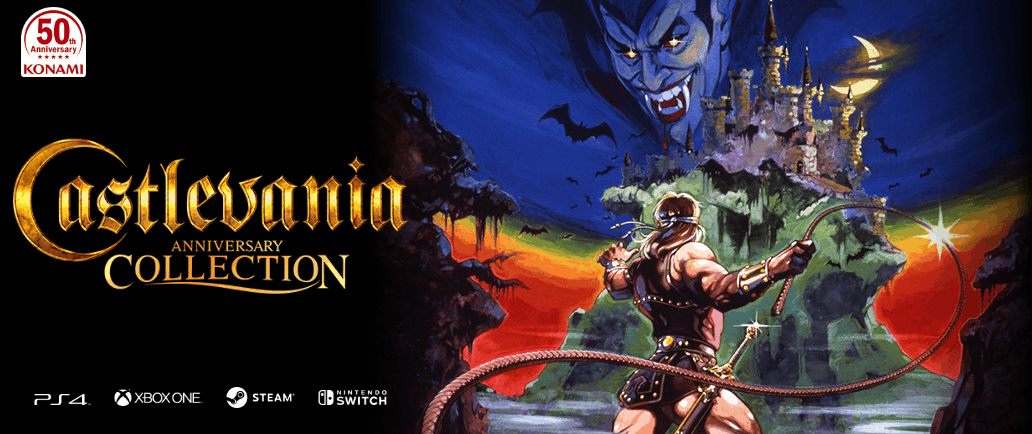 NES, SuperNES, and Game Boy Castlevania games will soon be