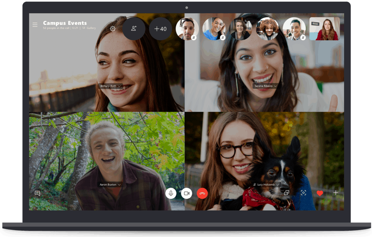 Skype copied useful idea Zoom and better