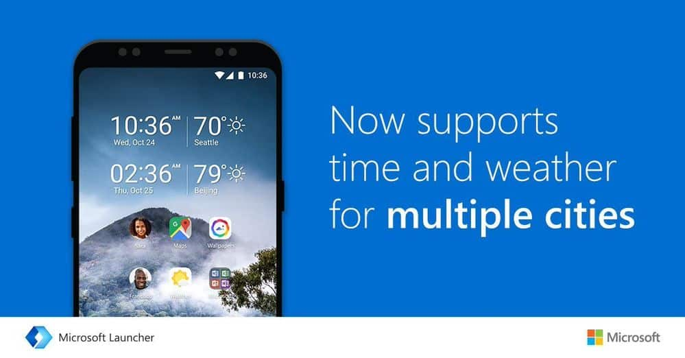 Microsoft Launcher 5 3 starts rolling out to all Android