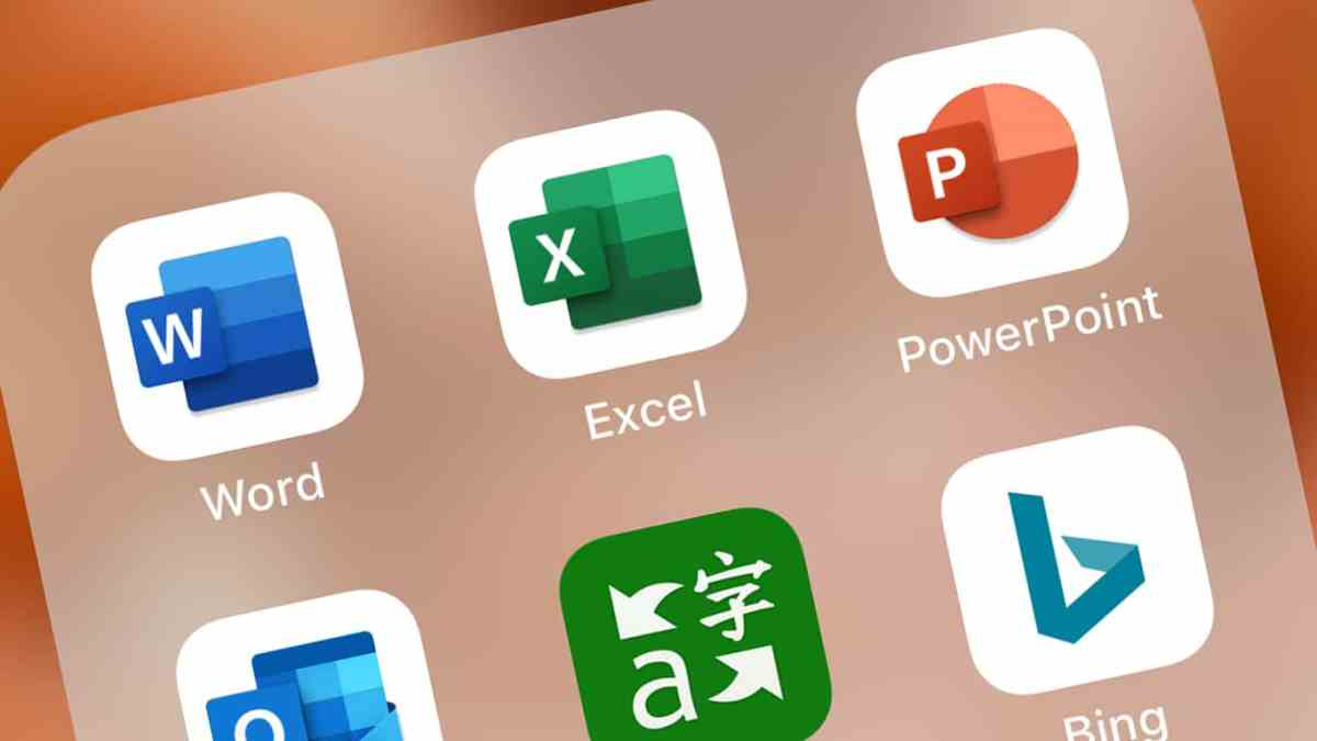 new microsoft word  excel  and powerpoint icons now