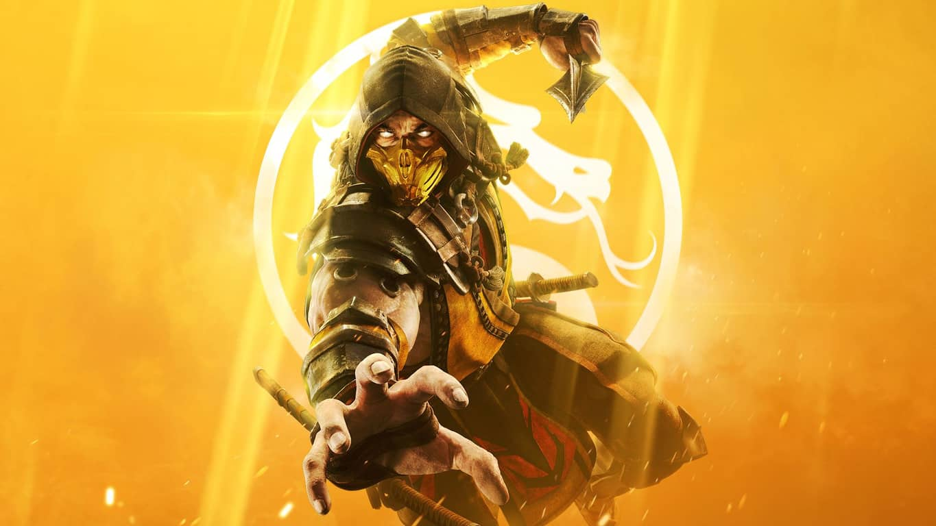 Mortal Kombat 11 video game on Xbox One