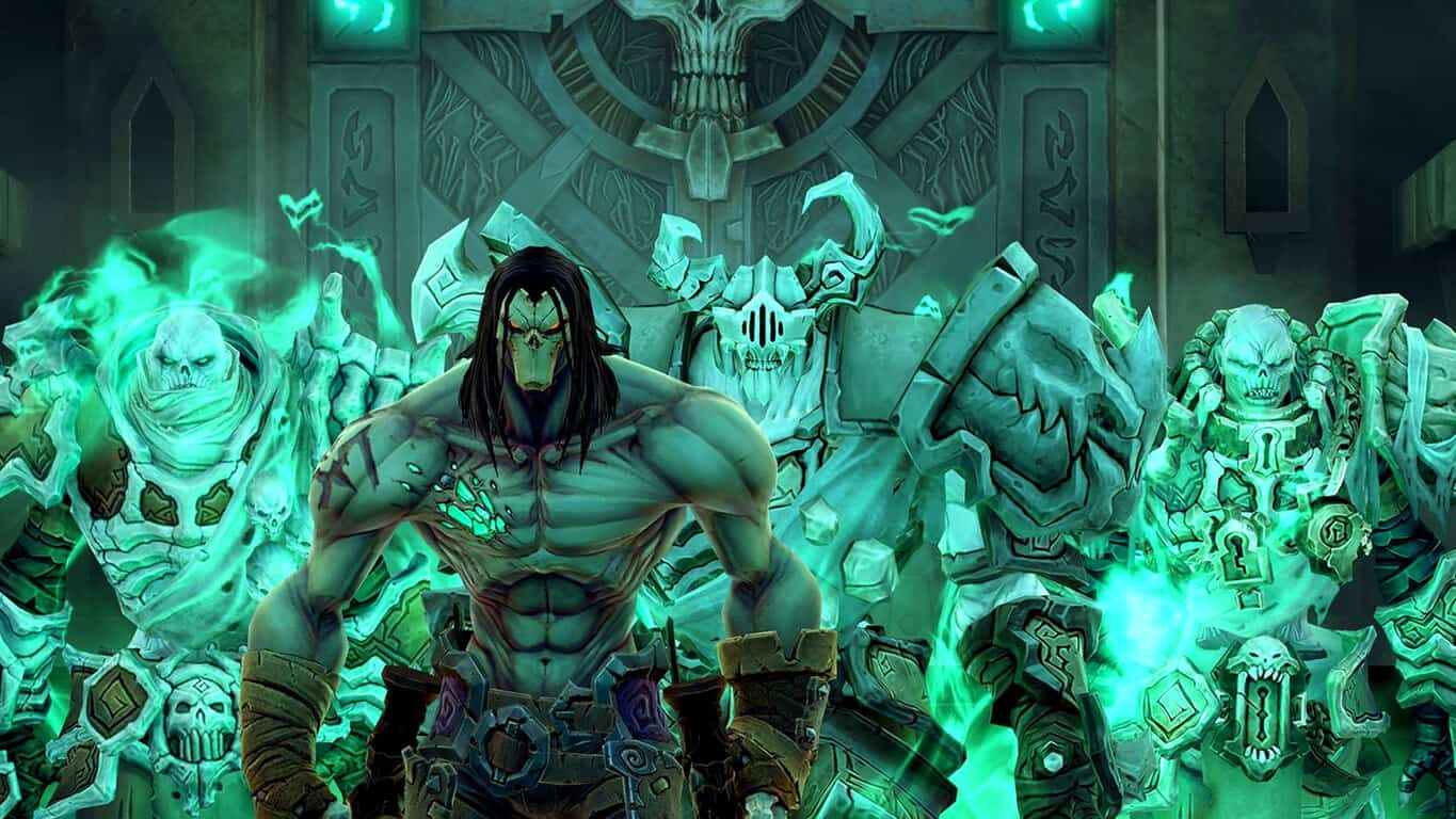 Darksiders II Deathinitive Edition video game on Xbox One