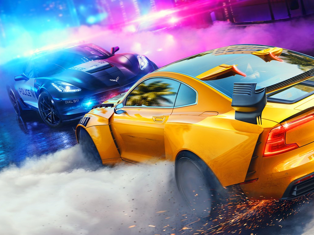 Need For Speed Heat video game on Xbox One