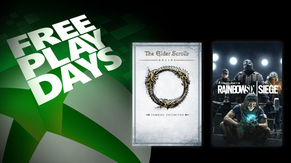 Tom Clancy & # 39; s Rainbow Six Siege and The Elder Scrolls Online can play for free with Xbox Live Gold this weekend