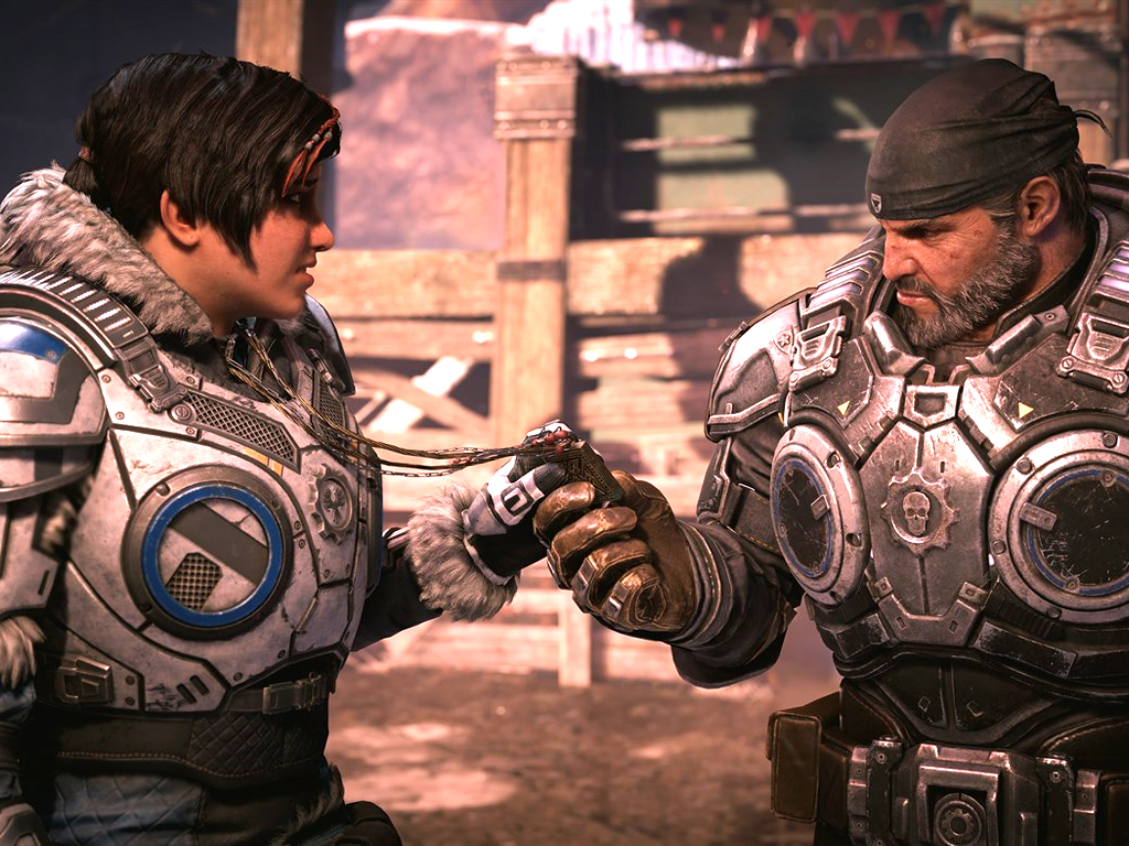 Gears 5 video game on Xbox One, Windows 10, and Xbox Game Pass