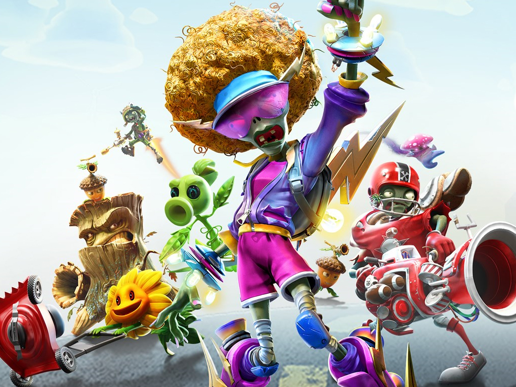 Plants vs. Zombies: Battle for Neighborville video game on Xbox One