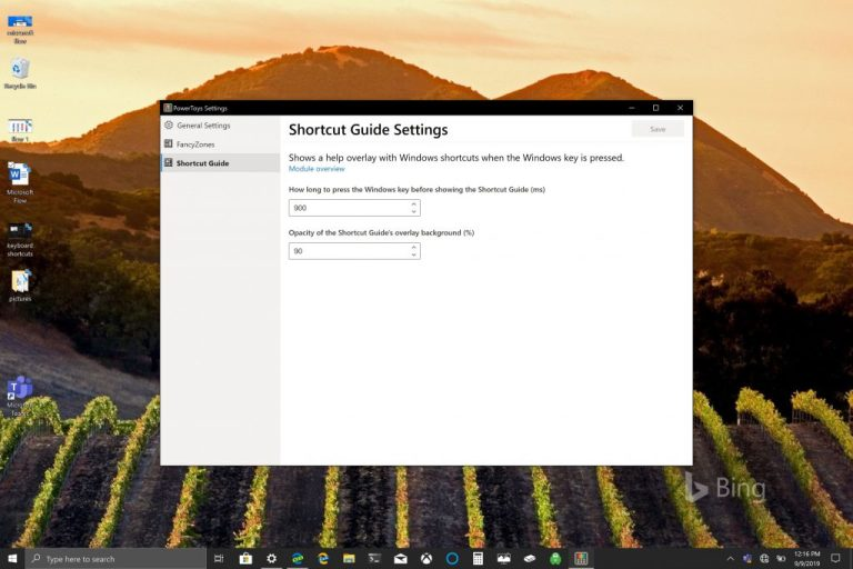 How to get the most out of Windows key + shortcuts using PowerToys in Windows 10
