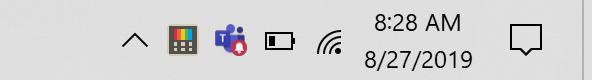 PowerToys tray icon