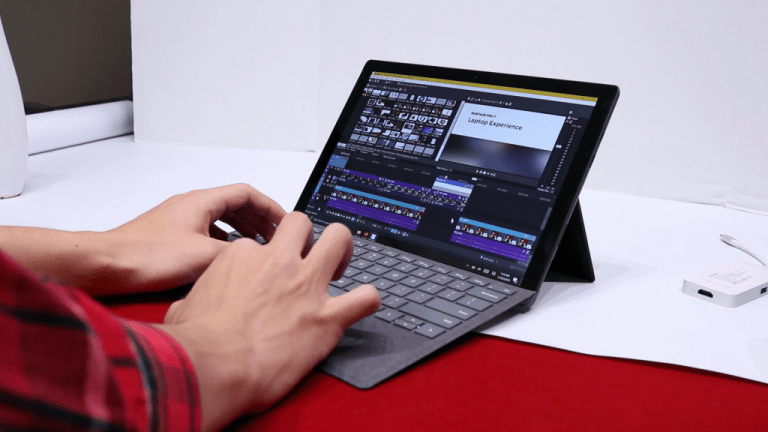 Surface Pro 7 Video Editing