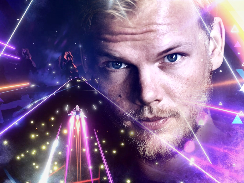 AVICII Invector video game on Xbox One