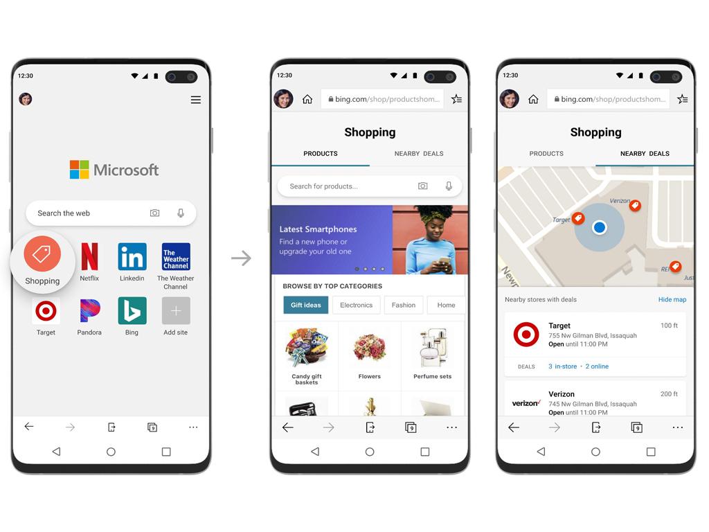 Microsoft Edge mobile browser
