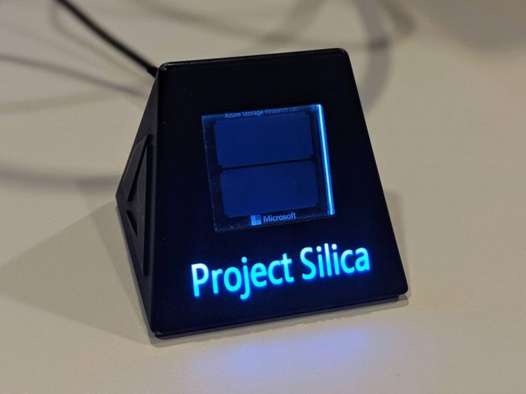 A conversation with the researcher who put a movie on a piece of glass with Project Silica