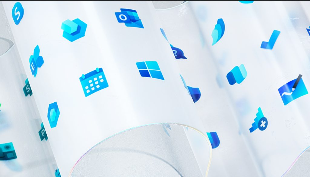 Microsoft unveils new Windows logo and Office icons