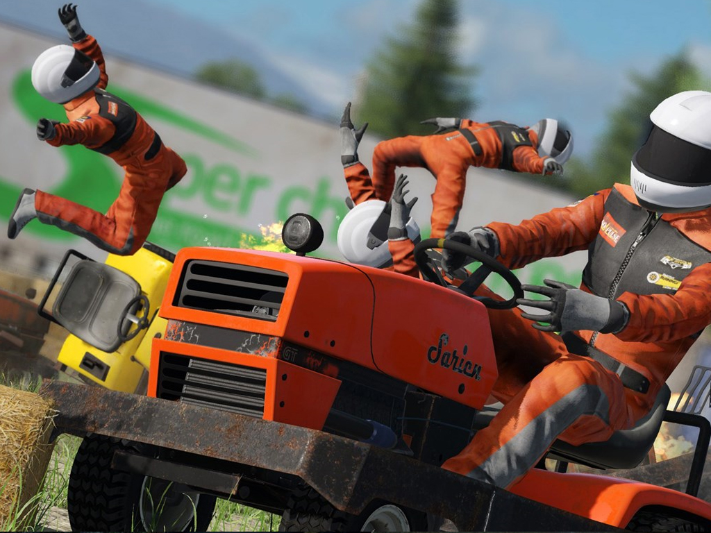 Wreskfest video game on Xbox One
