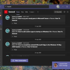 Microsoft Teams now allows users turn off message previews in desktop notifications